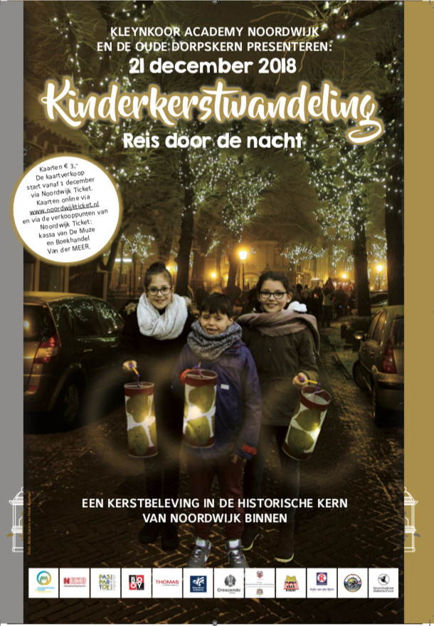KinderKerstwandeling door Noordwijk Binnen