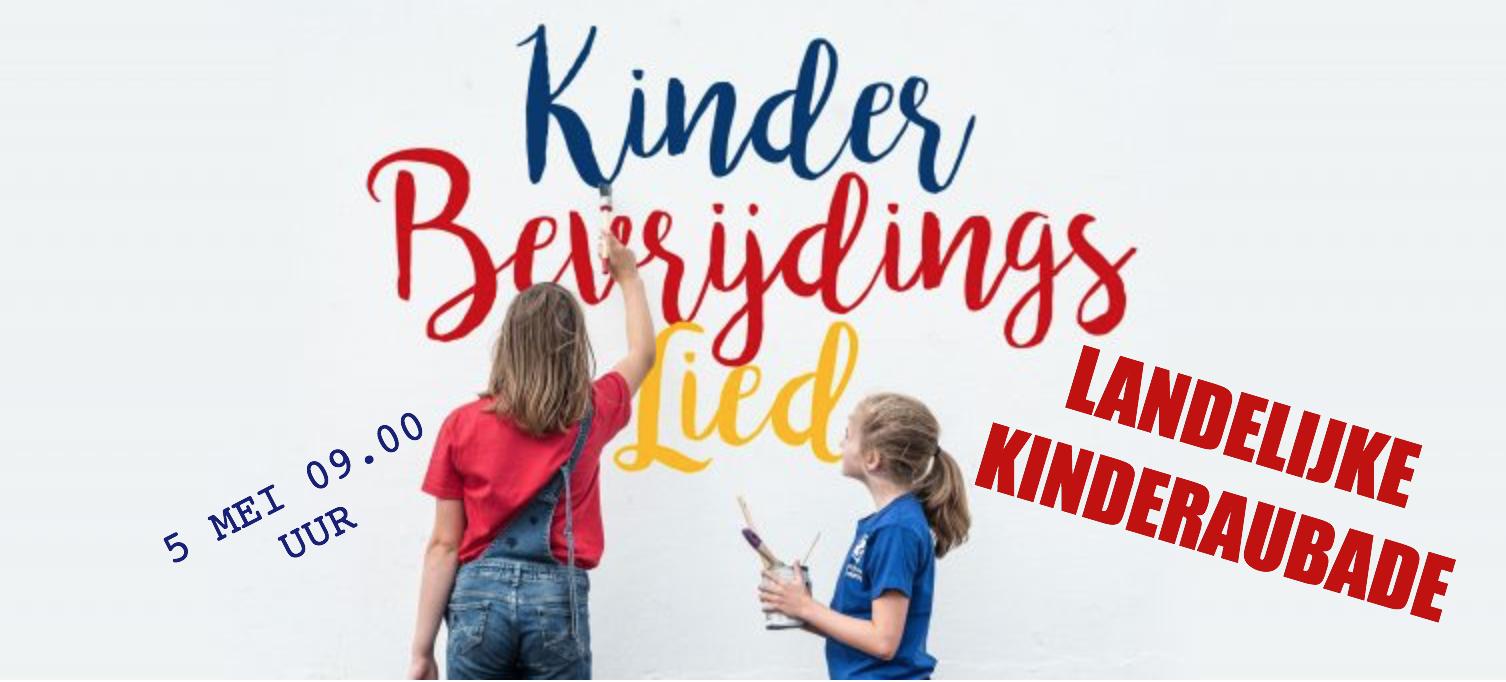 Landelijke Kinderaubade Met Het Kinderbevrijdingslied